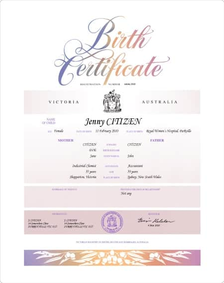 birth certificate image 5