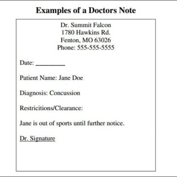 9+ Doctor note templates