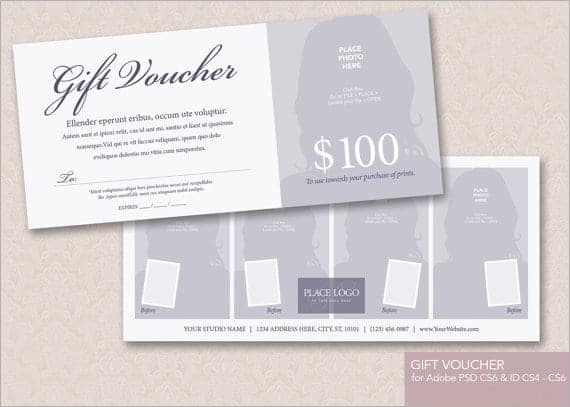 8 Gift voucher templates Word Excel PDF Formats – Template for a Voucher