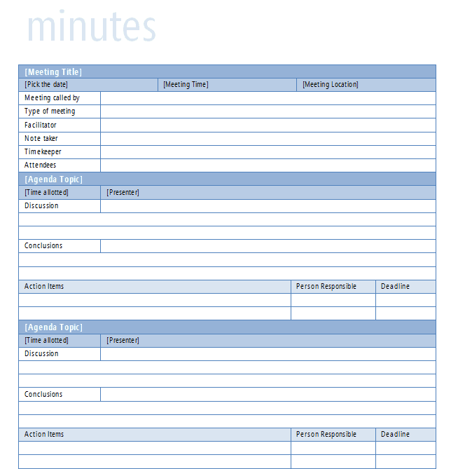 Nonprofit Board Meeting Agenda Template | Best Business Template