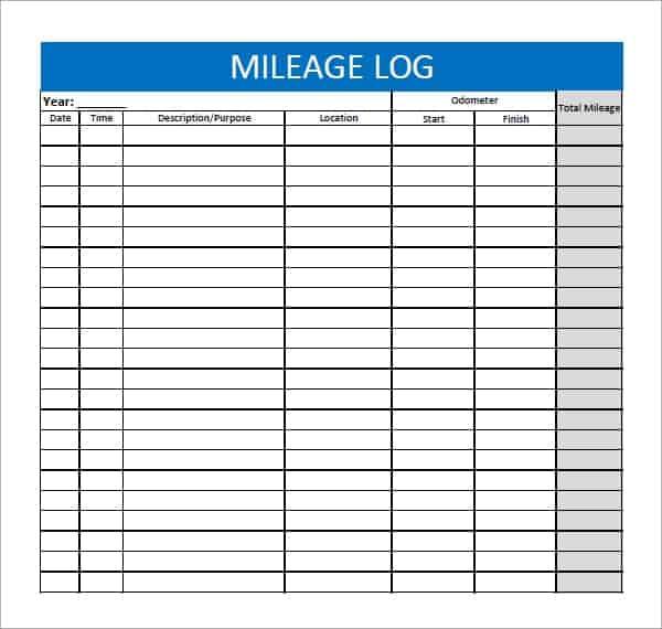 mileage log 3