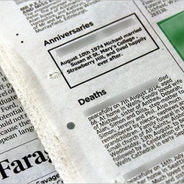 11+ Obituary templates