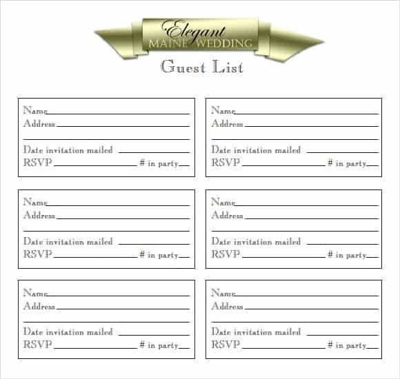 party guest list image 6