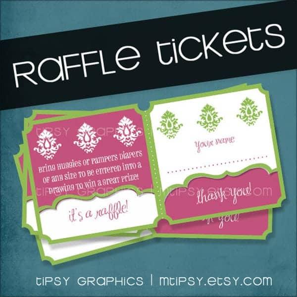 7 raffle ticket templates word excel pdf formats. Black Bedroom Furniture Sets. Home Design Ideas