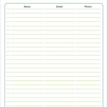 9+ Sign up sheet templates
