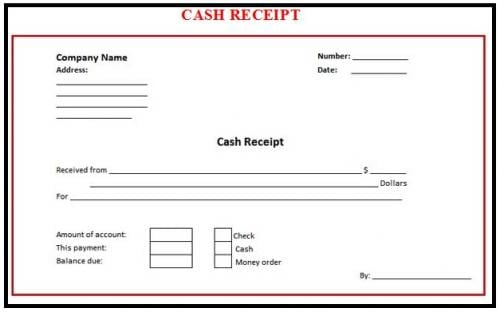 8 cash receipt templates word excel pdf formats