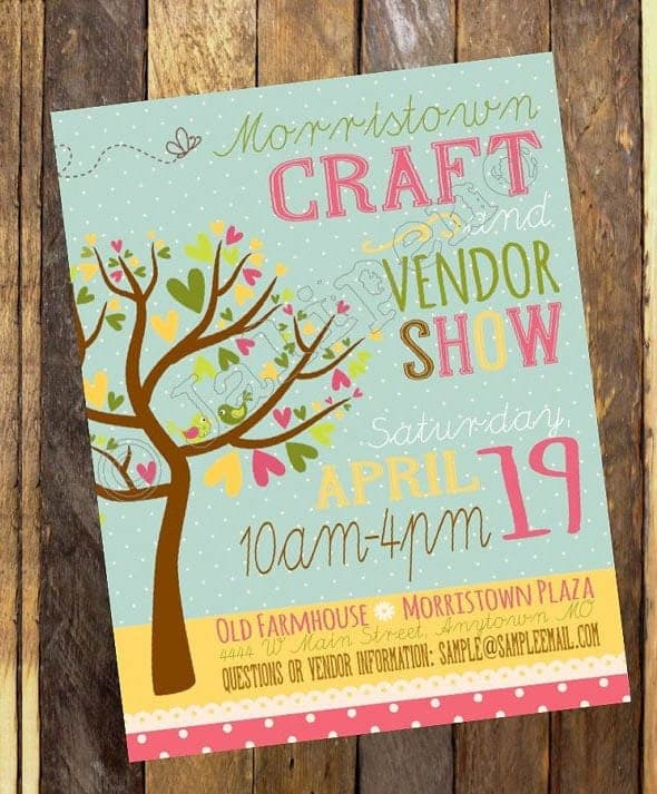 event flyer template 1