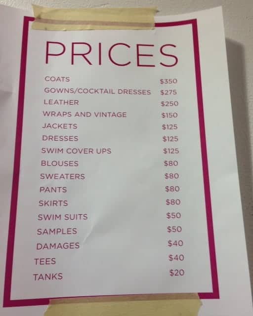 price list template 8