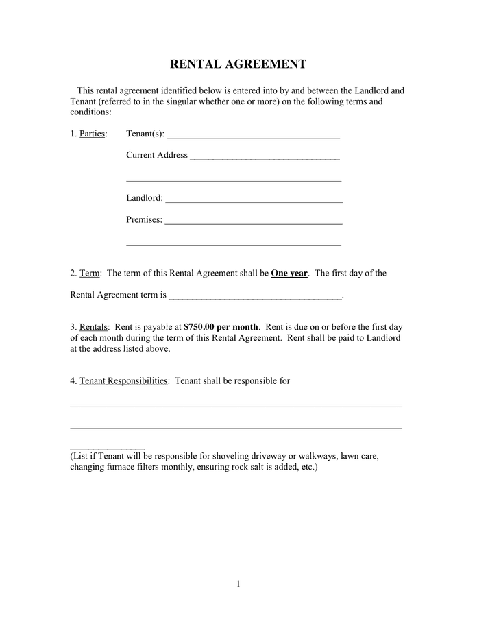 rental agreement template 11