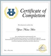 certificate of completion template 561