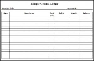 general ledger template 1542