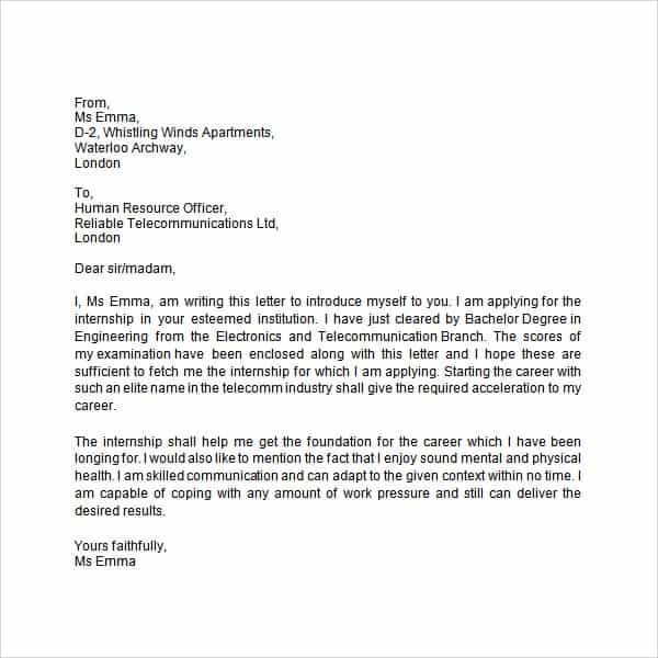 business introduction email 7