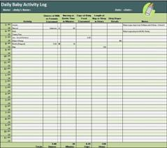 daily activity log 7