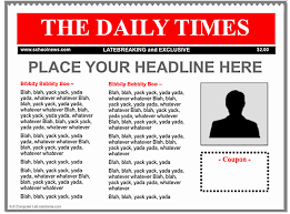newspaper template image 3