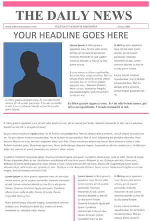 newspaper template image 5