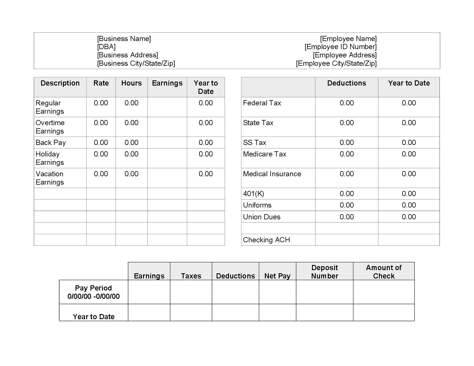 pay stub image 9