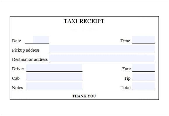 taxi receipt image 3