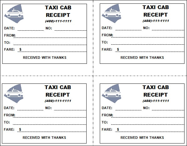 taxi receipt image 5