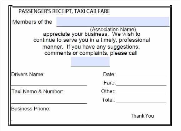 taxi receipt image 7