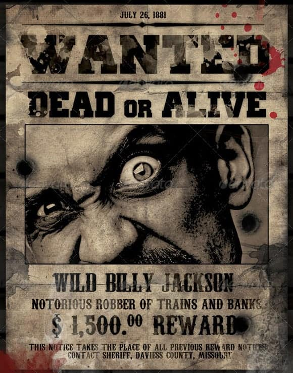 wanted poster image 5