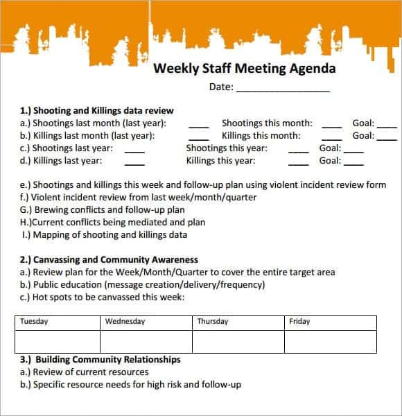meeting agenda template 18
