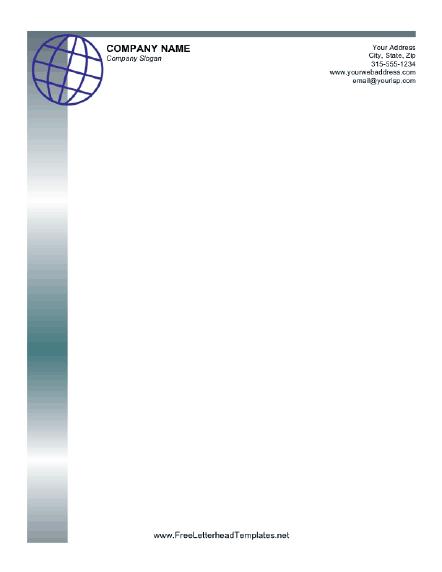company letterhead template 854